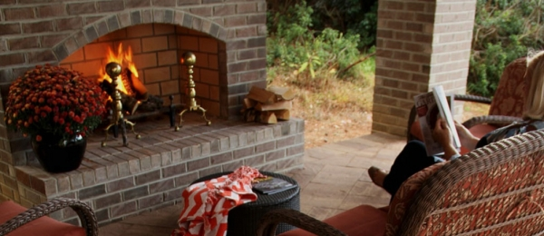 Cozy Up To An Outdoor Fireplace, Get In On The Winnings