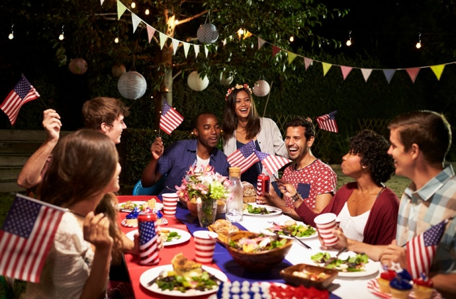 Add Fourth of July flair to your patio party